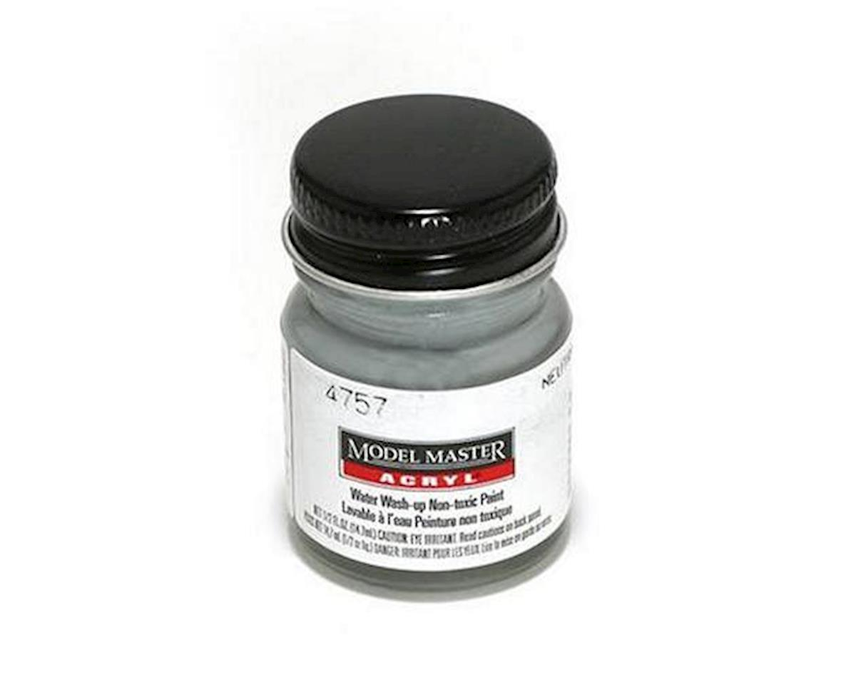 Testors Acryl Flat 1/2oz Neutral Gray