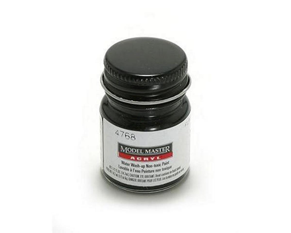 Acryl Flat 1/2oz Black by Testors