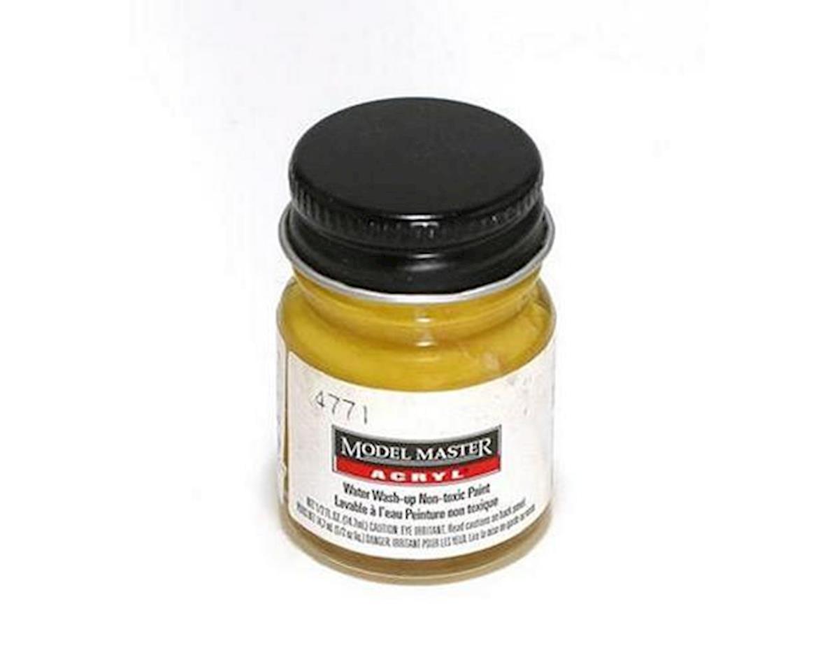 Testors Acryl Semi-Gloss 1/2oz Yellow