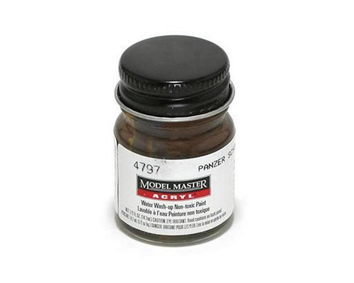 Acryl Flat 1/2oz Panzer Brown by Testors