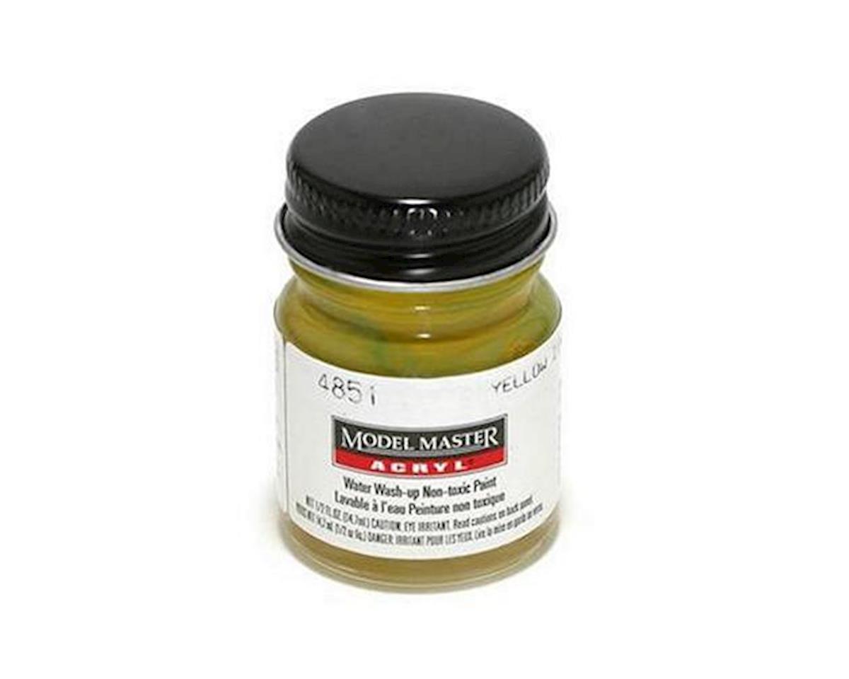 Testors Acryl 1/2oz Yellow Zinc Chroma