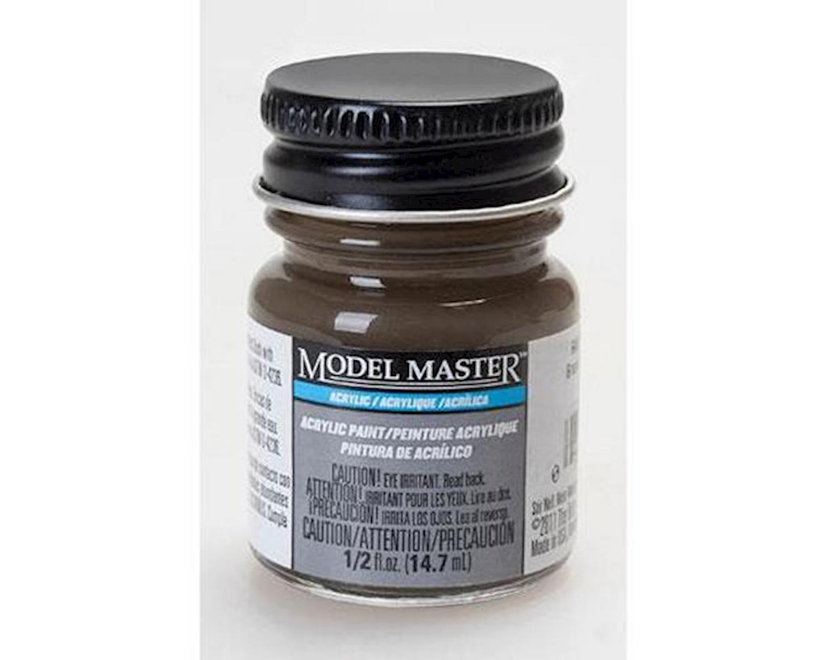 MM F414329 Railroad Tie Brown ,1/2oz Tri by Testors