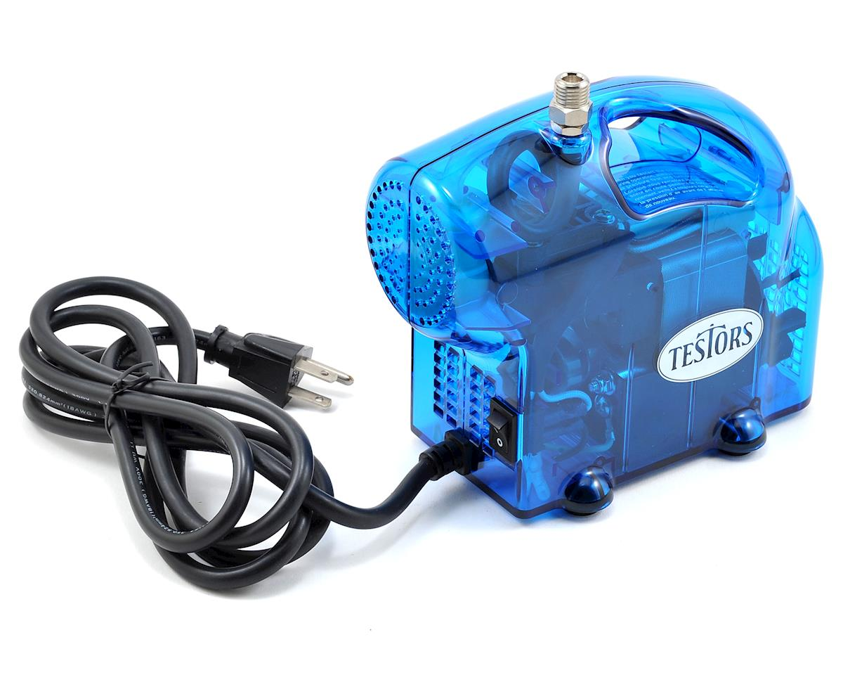 Testors Mini Blue Compressor