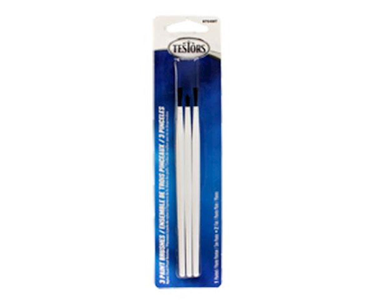PAINT BRUSH SET OF 3 by Testors