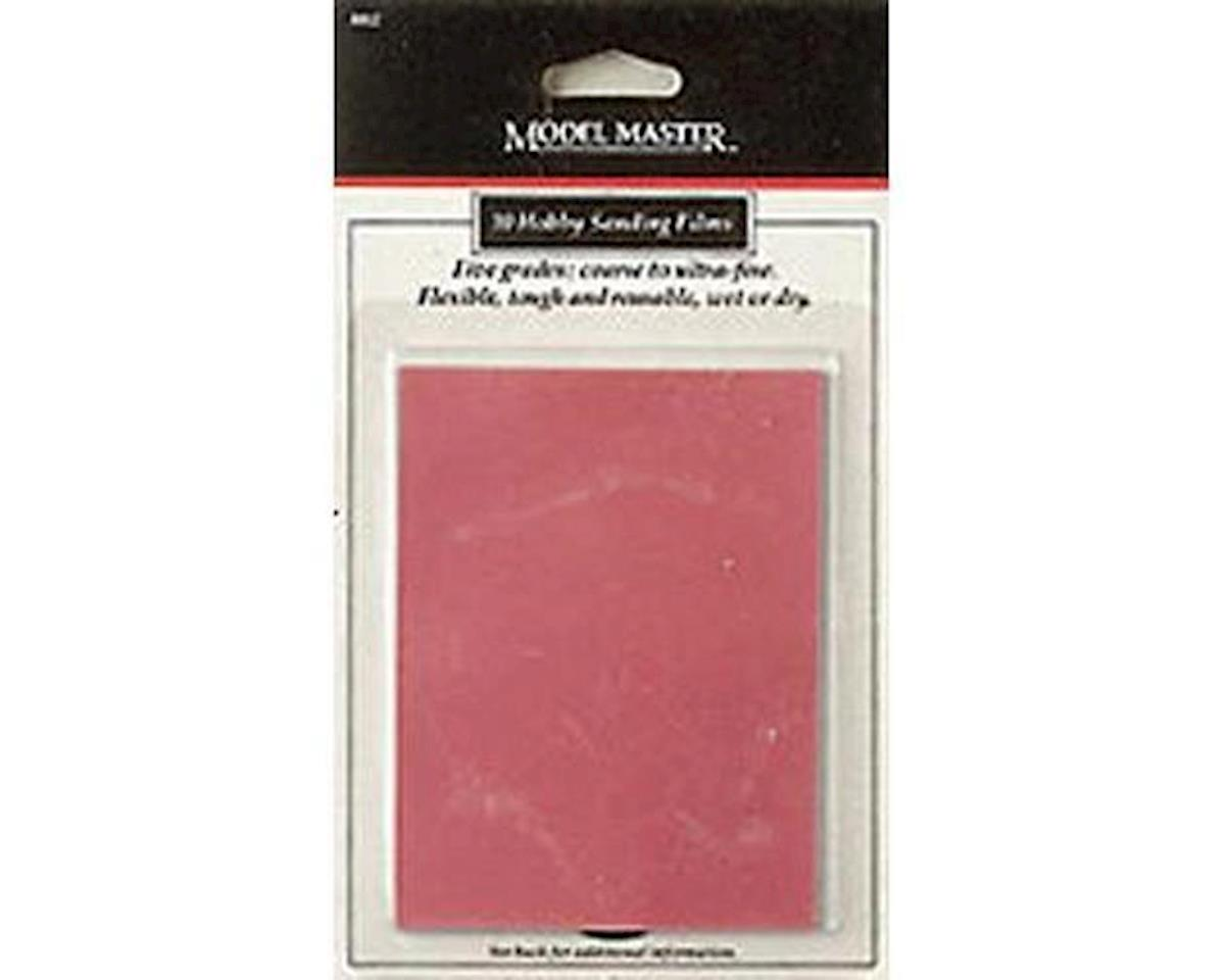Testors MM Sandpaper, Carded, 5 Grits