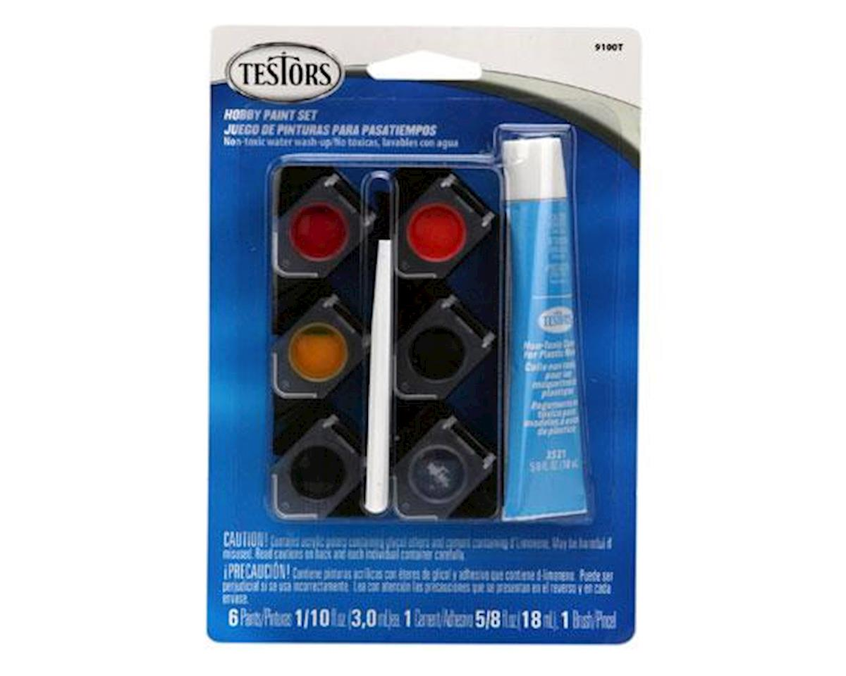 Testors Auto Detailing Paint Pot Set