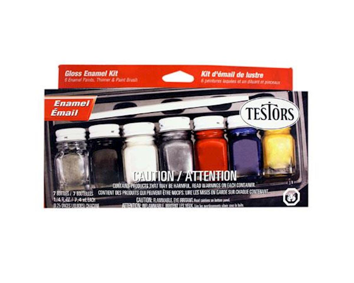 Enamel Kit:Household,6 Colors by Testors
