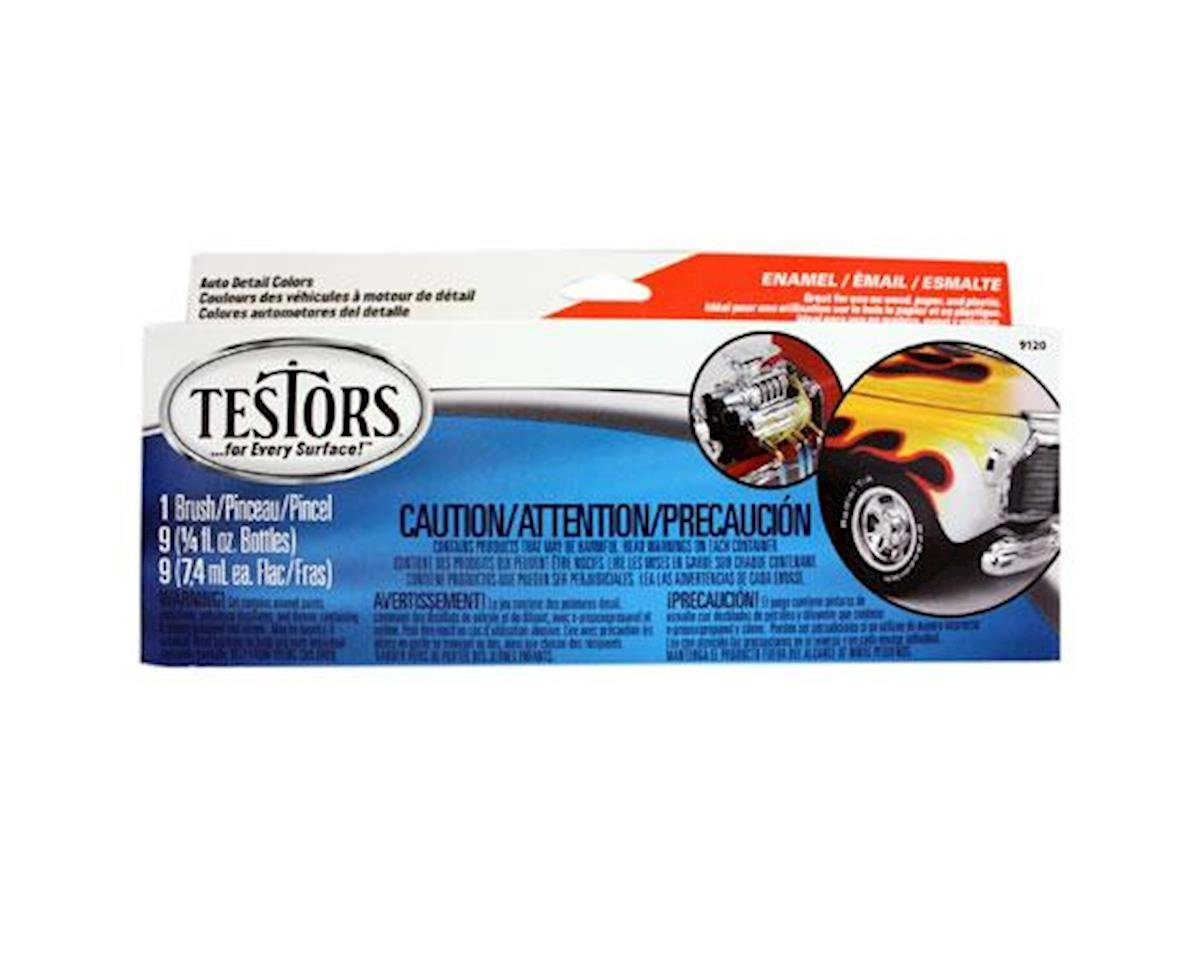 Testors Auto Detail Paint Set