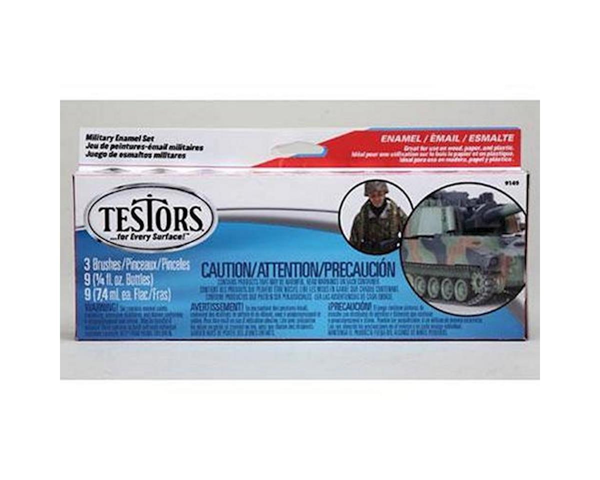 Testors ENAMEL MILITARY PAINT SET