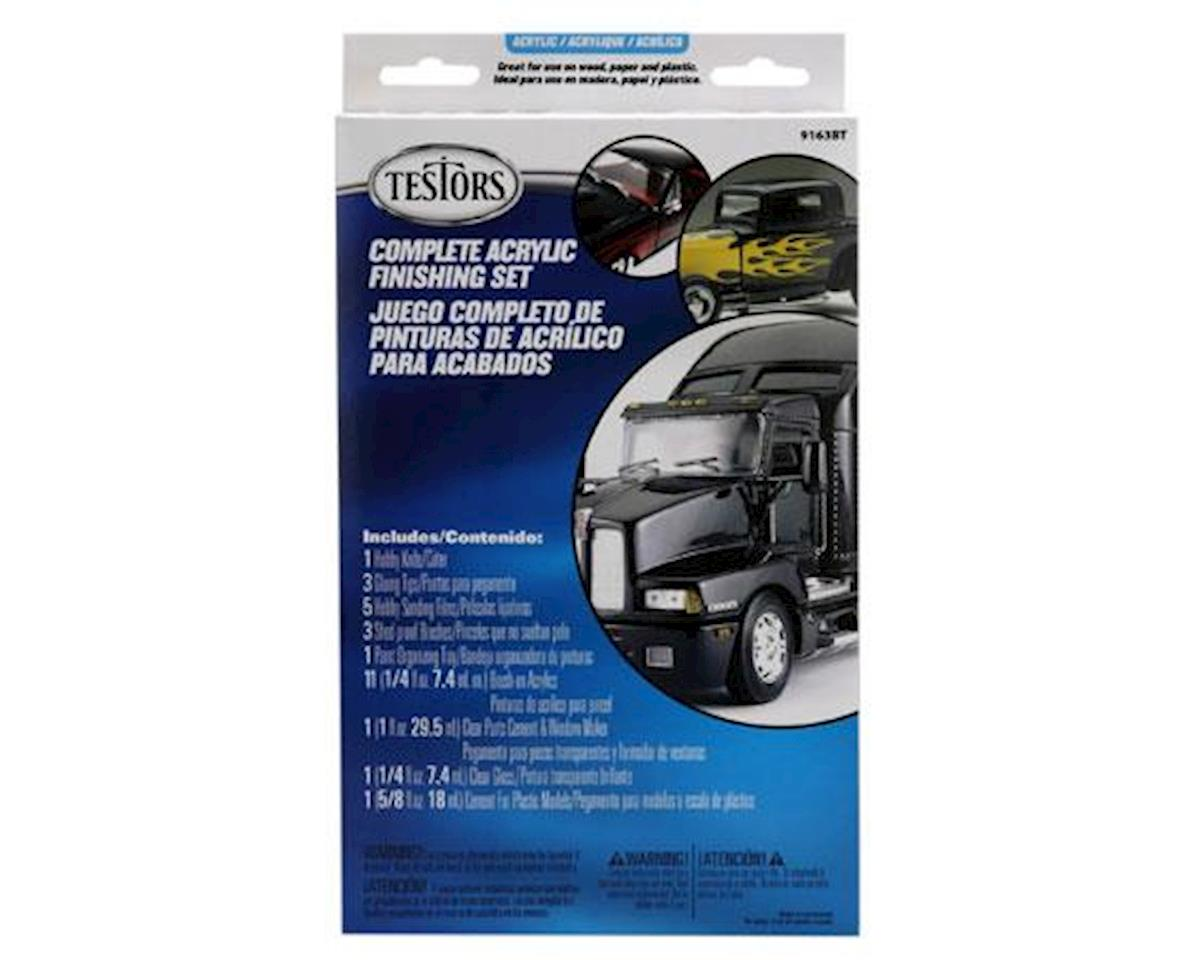 Testors Acrylic Paint Finishing Kit