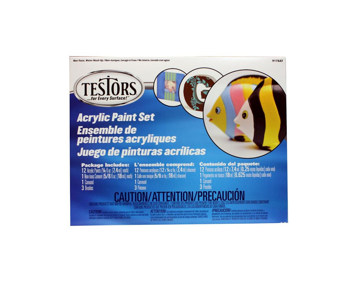 Testors Carousel Finishing Set Acrylic