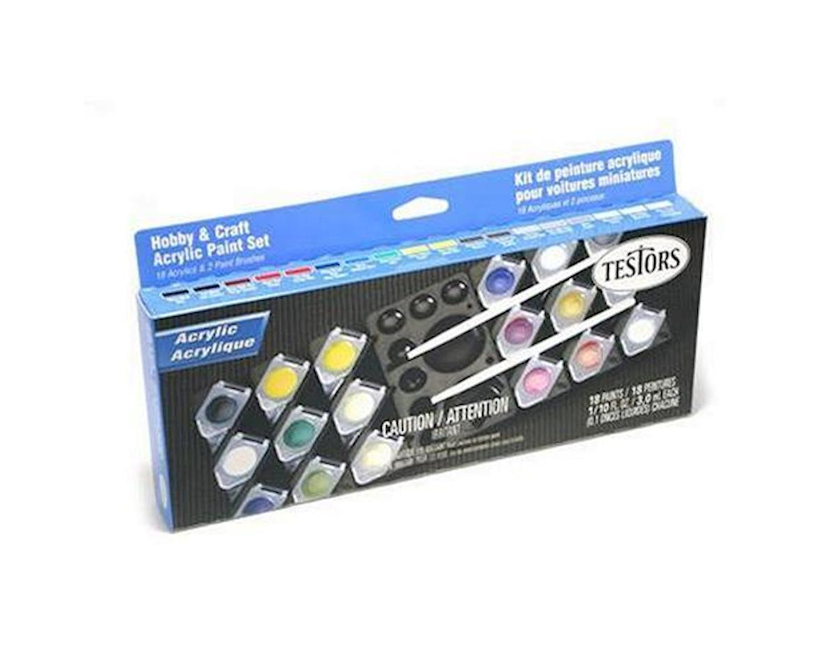 Testors HOBBY CRAFT PAINT POT SET