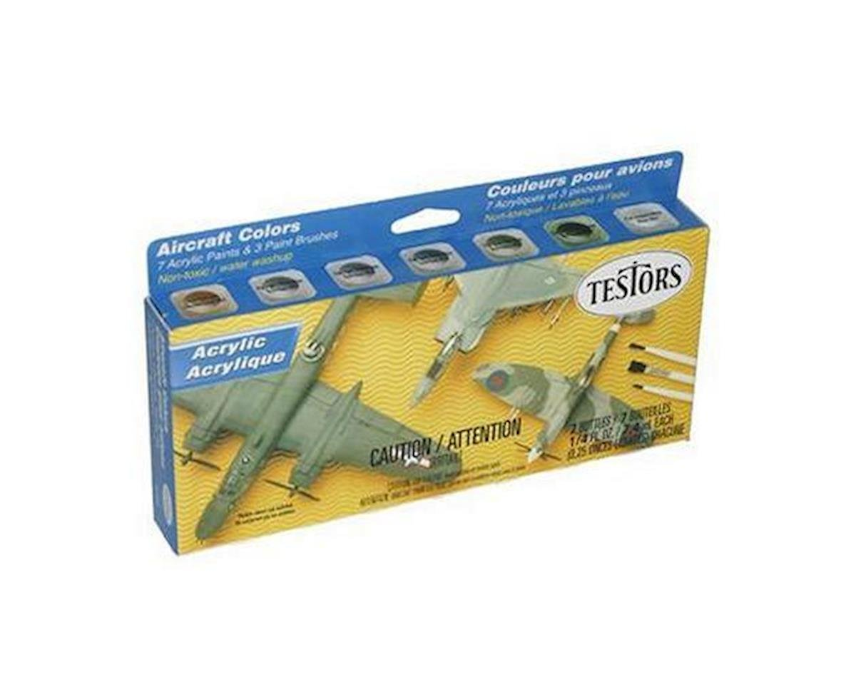 Testors Acrylic Aircraft Finishing Kit