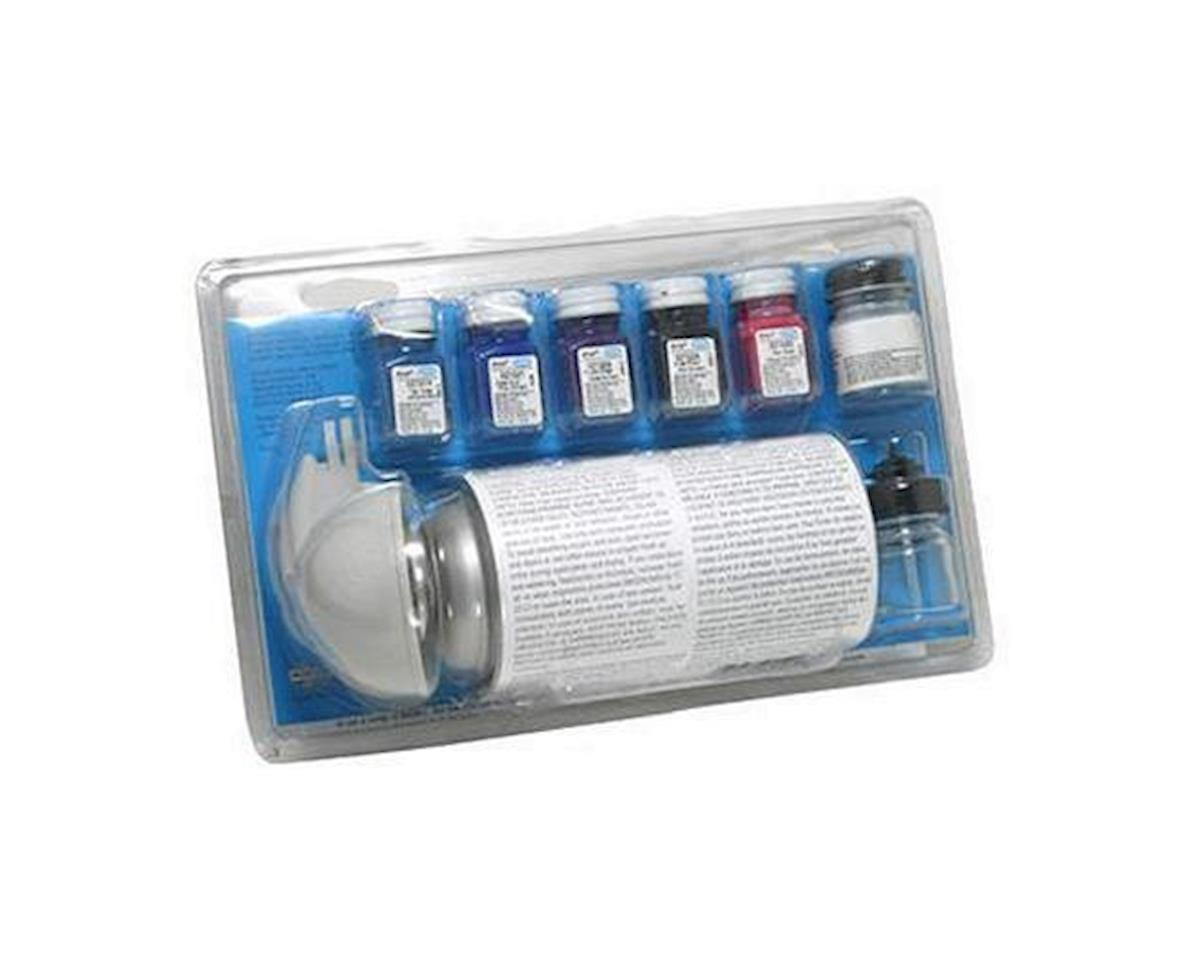 Testors MODEL CAR SPRAY PAINT SET