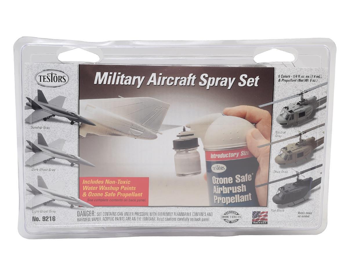 Military Aircraft Spray Set by Testors