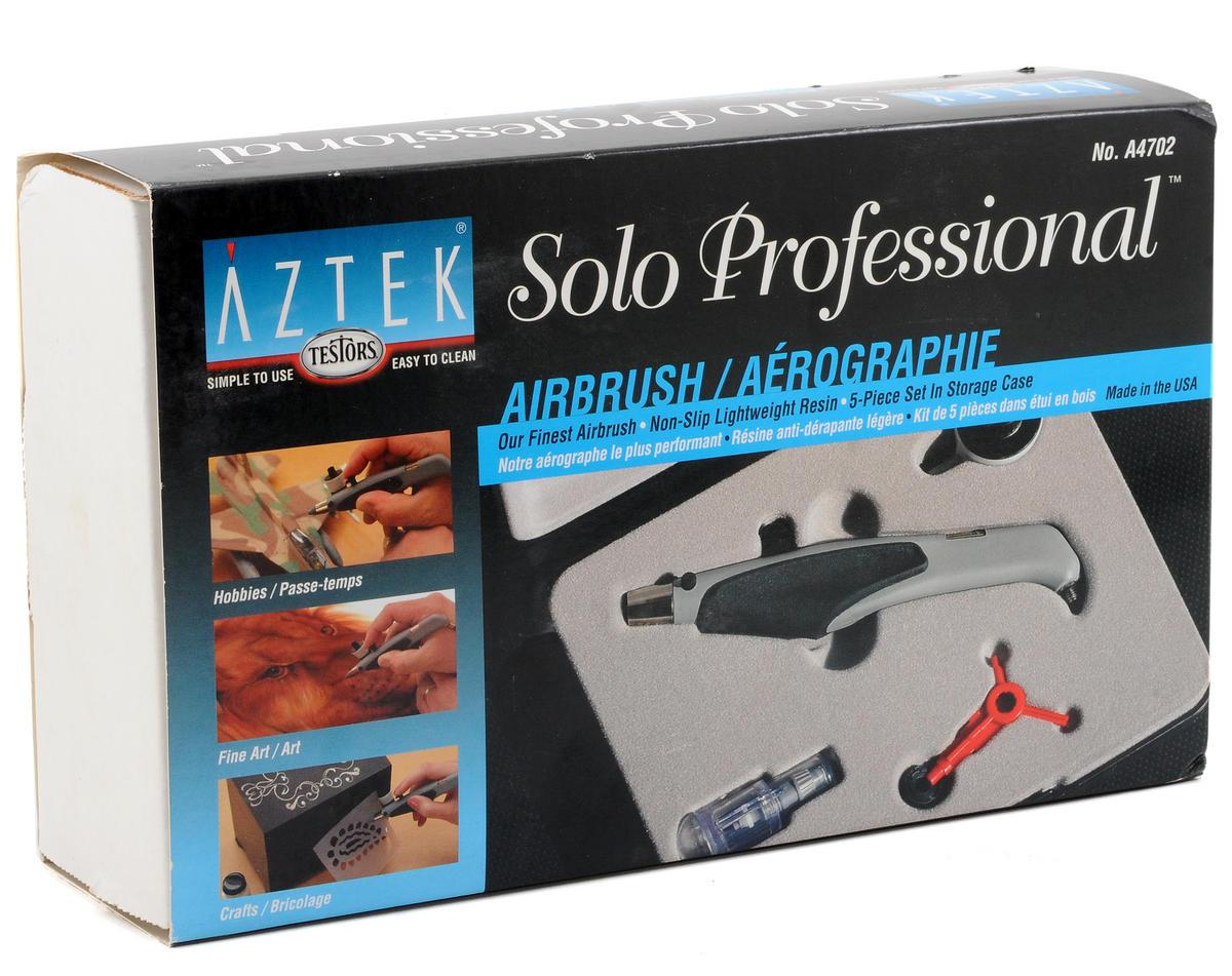 Testors Aztek A470 Solo Resin Airbrush Kit w/Plastic Case