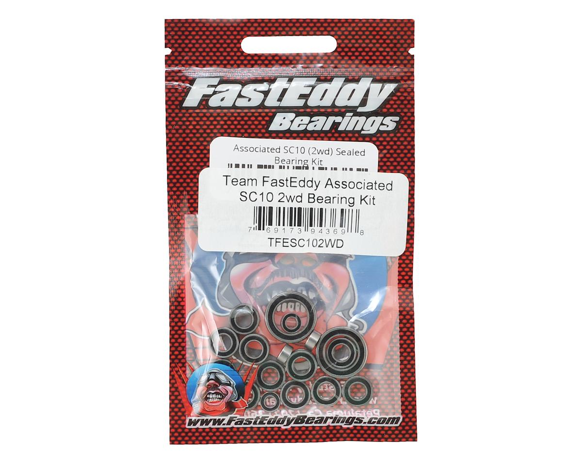 FastEddy Associated SC10 2wd Bearing Kit