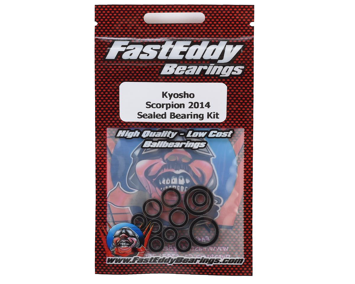 FastEddy Kyosho Scorpion 2014 Sealed Bearing Kit