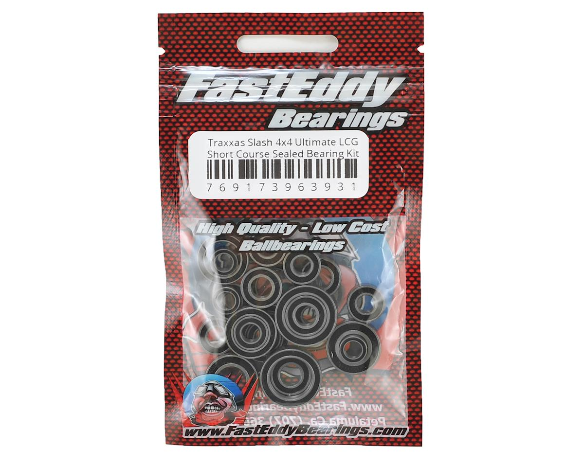 FastEddy Traxxas Slash 4x4 Ultimate LCG Short Course Bearing Kit