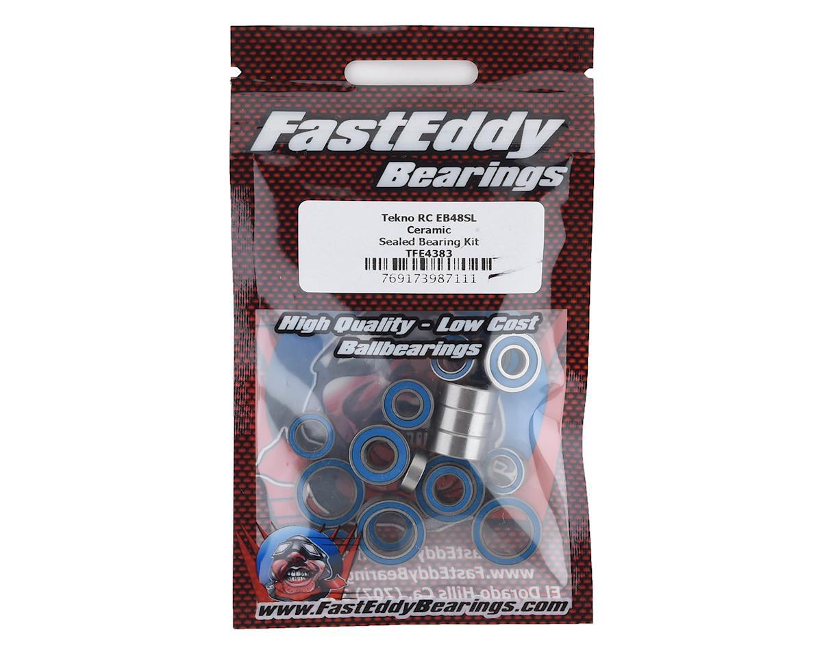FastEddy Tekno RC SCT410.3 Ceramic Rubber Sealed Bearing Kit