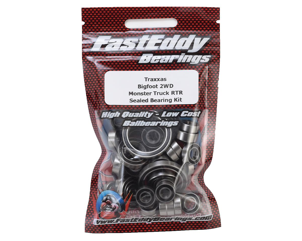 FastEddy Traxxas Bigfoot 2WD Monster Truck Sealed Bearing Kit