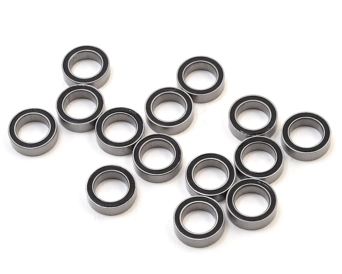 FastEddy 3x8x3mm Flanged Rubber Sealed Bearing (10)