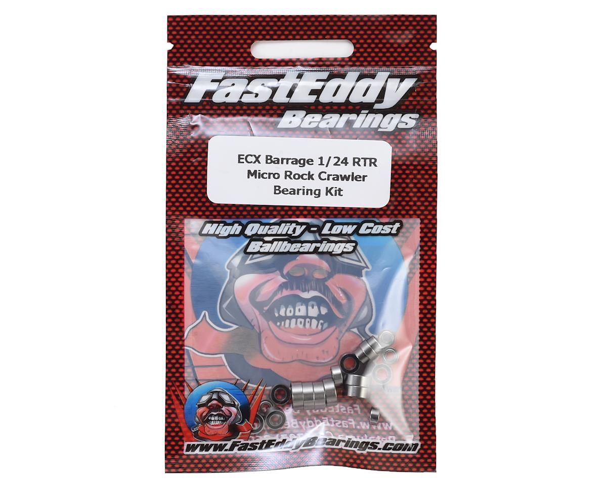 FastEddy ECX Barrage 1/24 RTR Micro Rock Crawler Bearing Kit