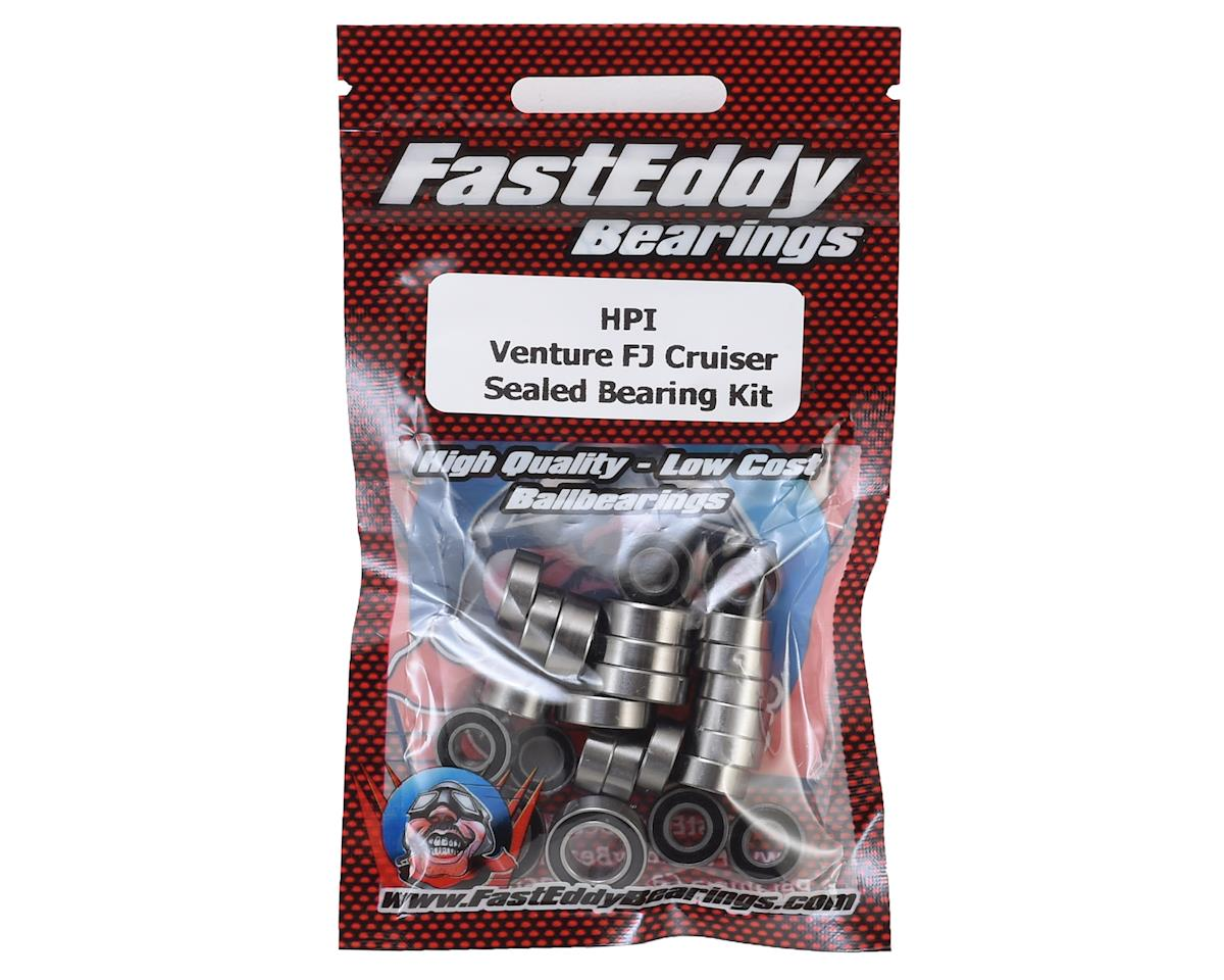 HPI Venture FJ Cruiser Rubber Sealed Bearing Kit by FastEddy