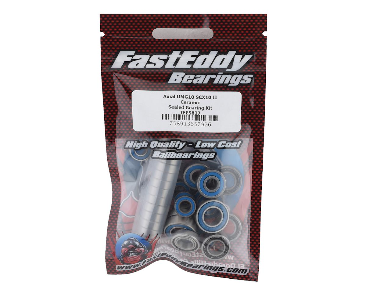 FastEddy Axial SCX10 II UMG10 Ceramic Sealed Bearing Kit