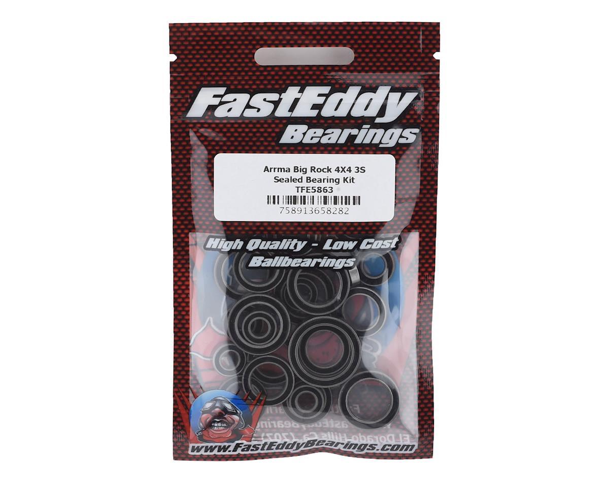 FastEddy Arrma Big Rock 4X4 3S Sealed Bearing Kit