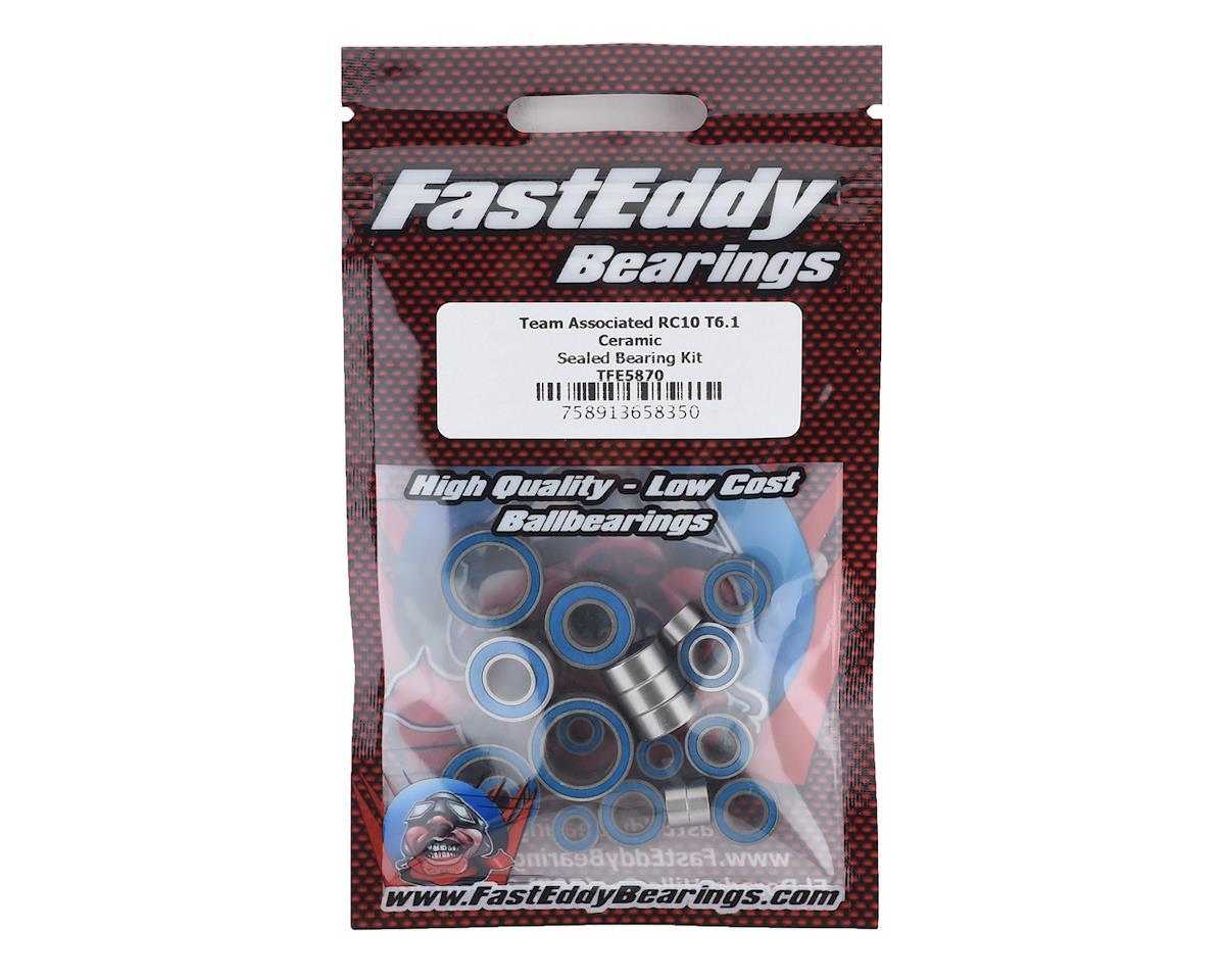 FastEddy Team Associated RC10 T6.1 Ceramic Sealed Bearing Kit