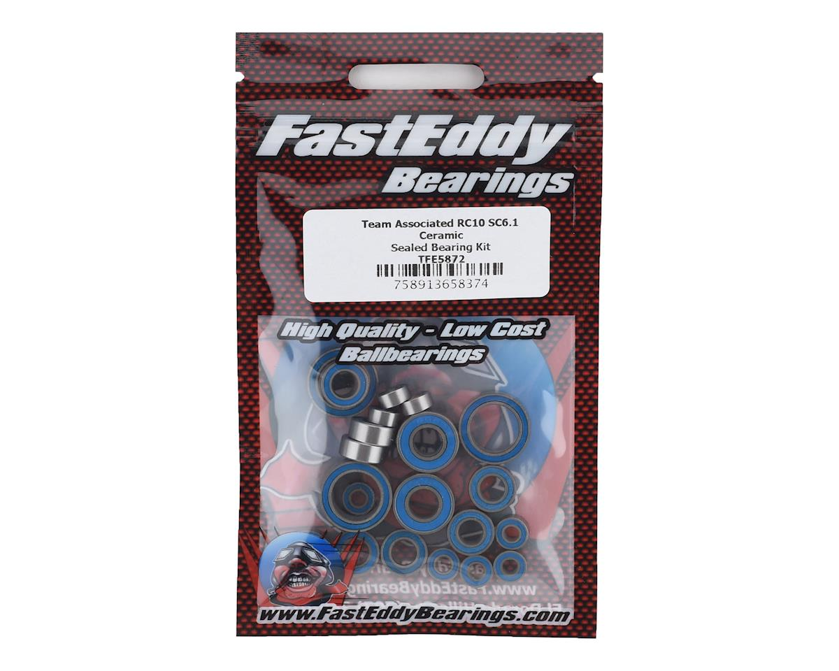 FastEddy Team Associated RC10 SC6.1 Ceramic Sealed Bearing Kit