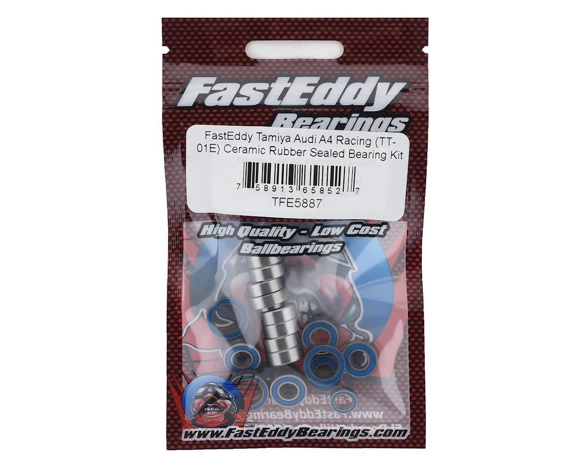 FastEddy Tamiya TT-01 Audi A4 Racing TT-01E Ceramic Rubber Sealed Bearing Kit