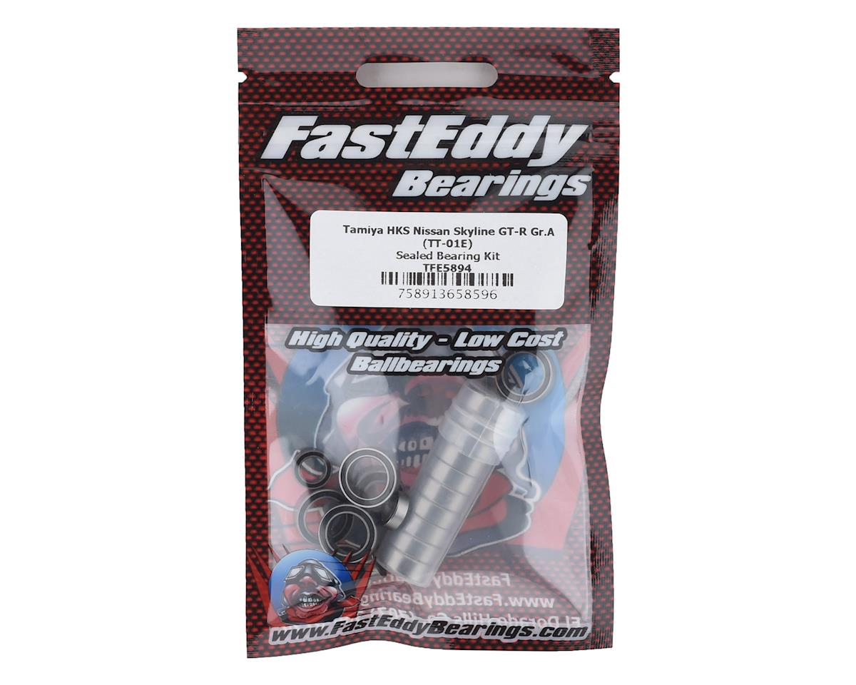 FastEddy Tamiya HKS Nissan Skyline GT-R Gr.A Sealed Bearing Kit (TT-01E)