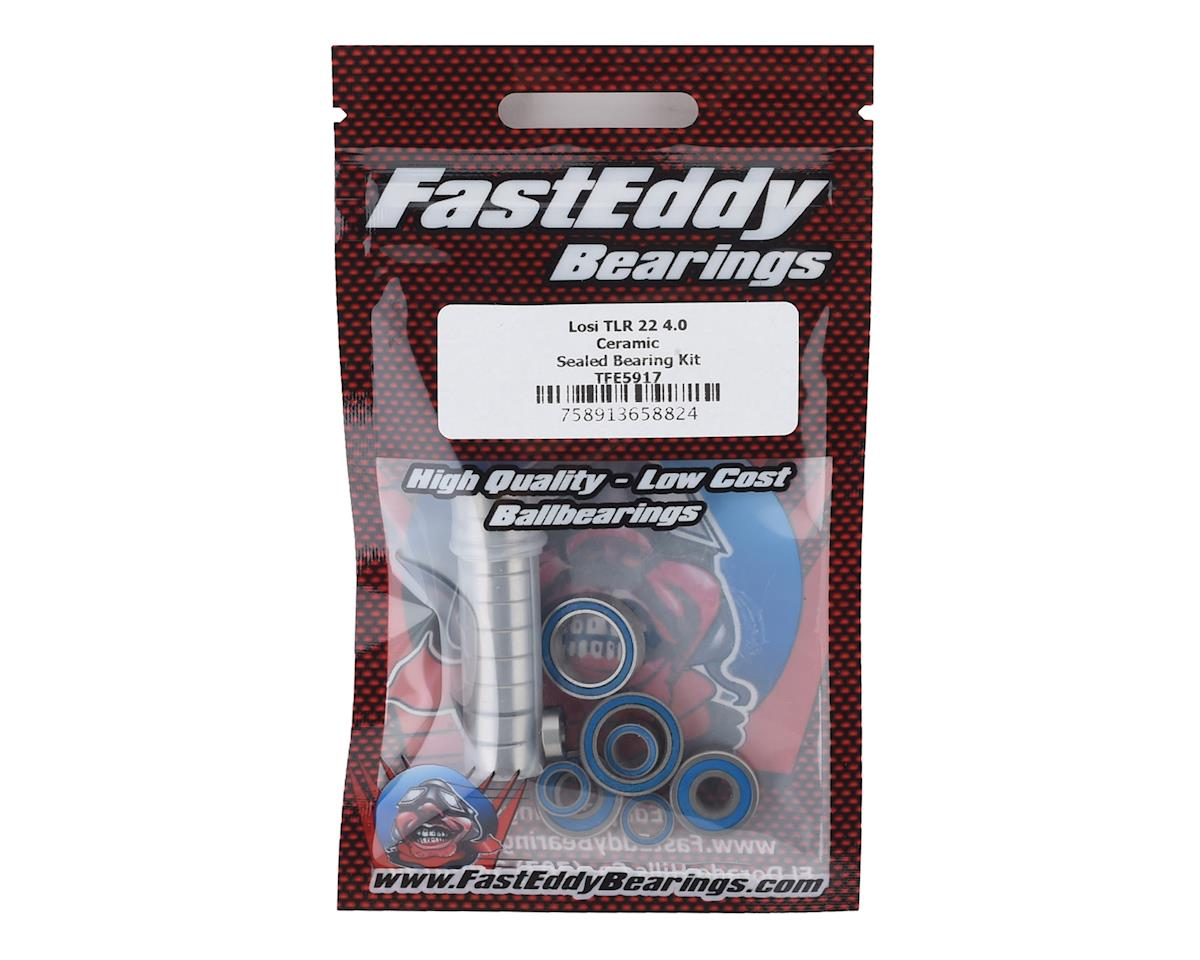 FastEddy Losi 22 4.0 TLR Ceramic Sealed Bearing Kit