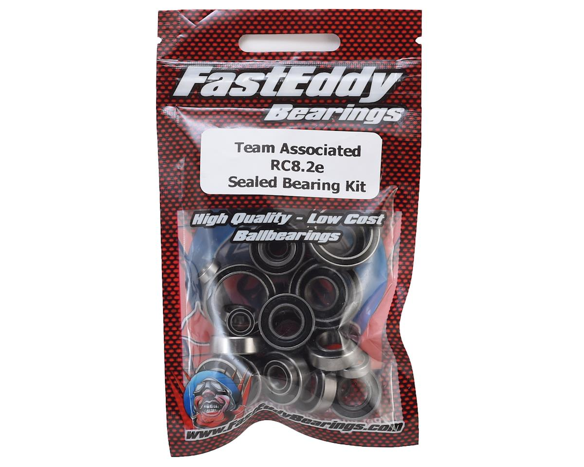 FastEddy Team Associated RC8.2e Sealed Bearing Kit