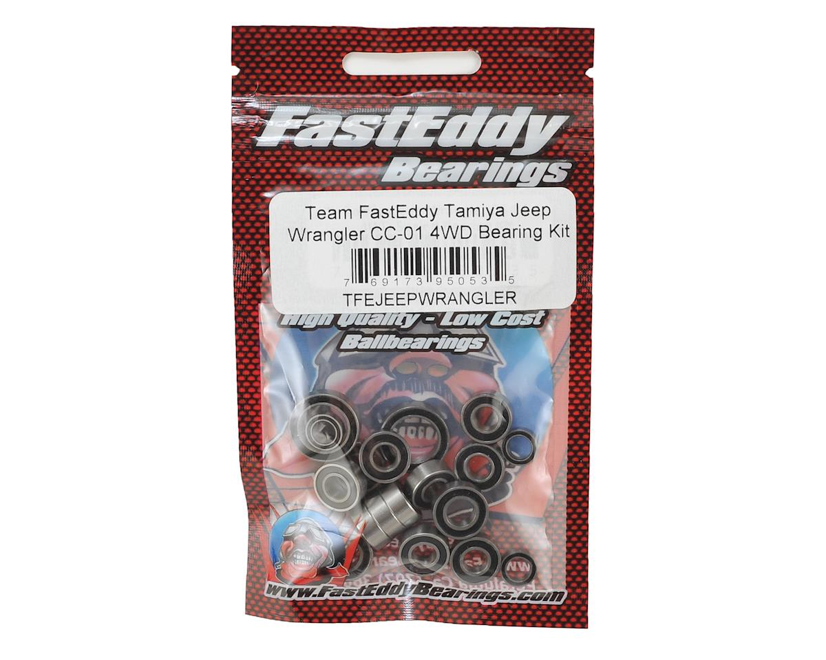 FastEddy Tamiya Jeep Wrangler CC-01 4WD Bearing Kit