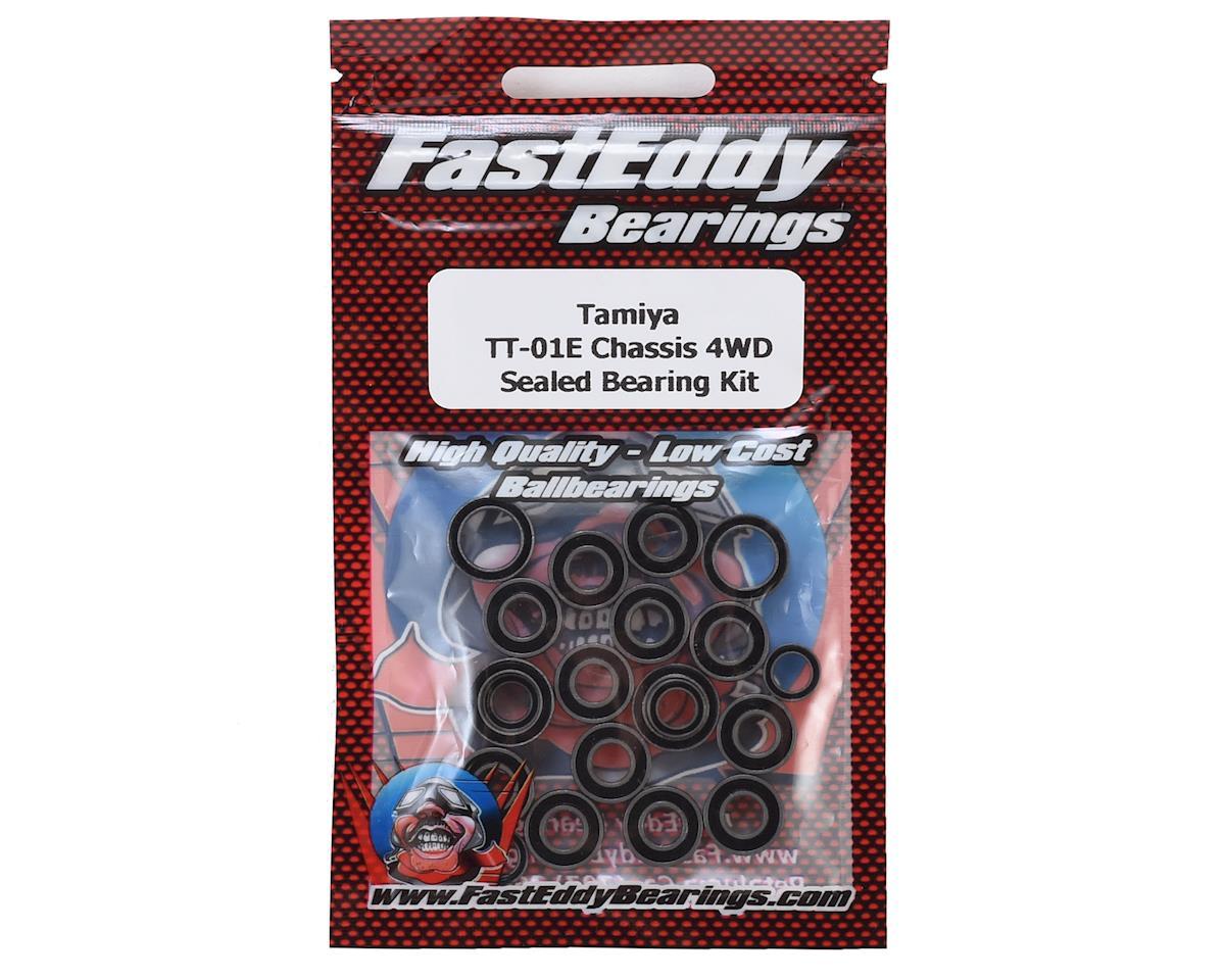 FastEddy Tamiya TT-01E Chassis 4WD Sealed Bearing Kit