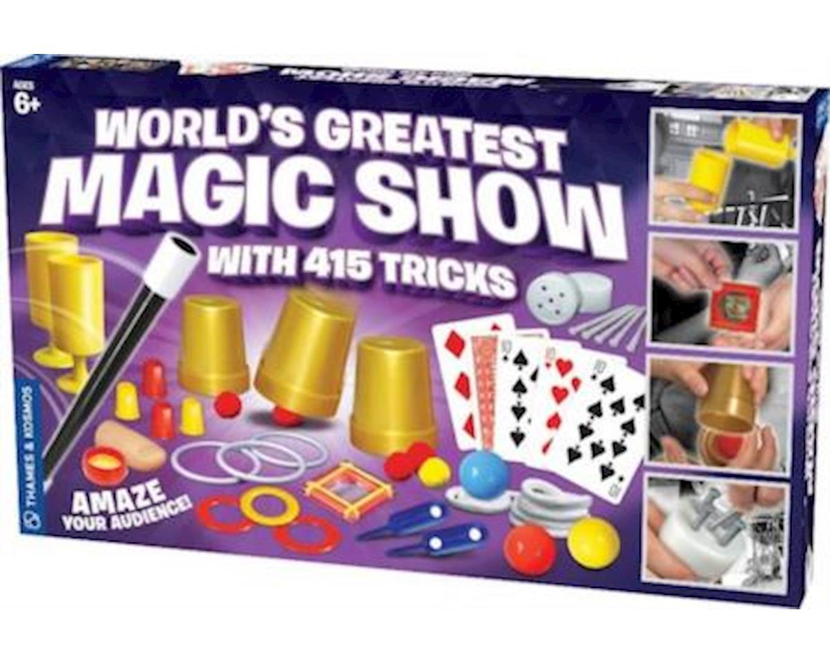 World's Greatest Magic Show with 415 Tricks Magic Set