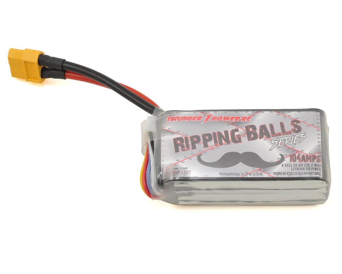 "Thunder Power Adrenaline ""Ripping Balls"" 4S Li-Poly Battery 80C (14.8V/1300mAh)"