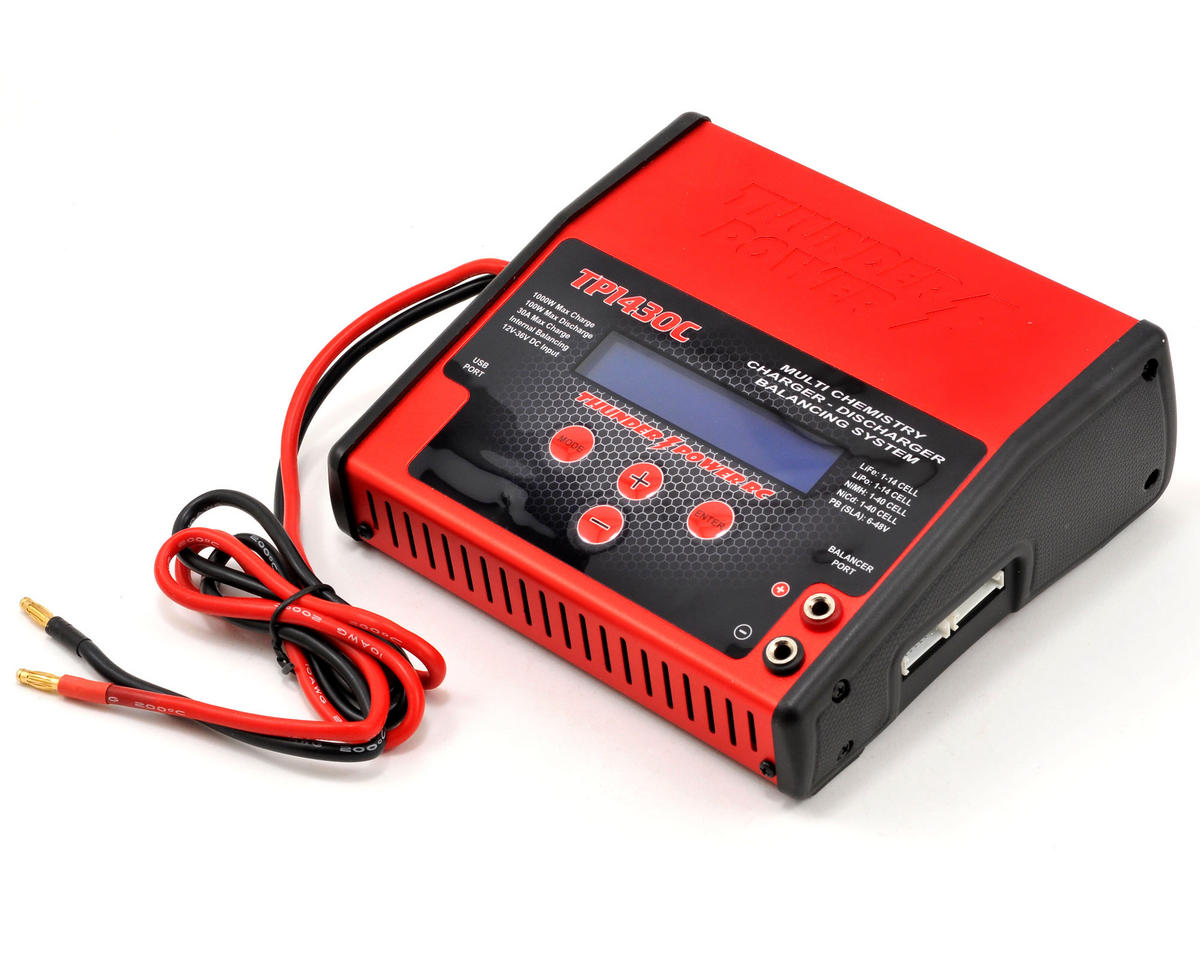 Thunder Power DC TP1430C DC 1-14 Cell LiPo Charger w/Balancer (14S/30A/1000W)