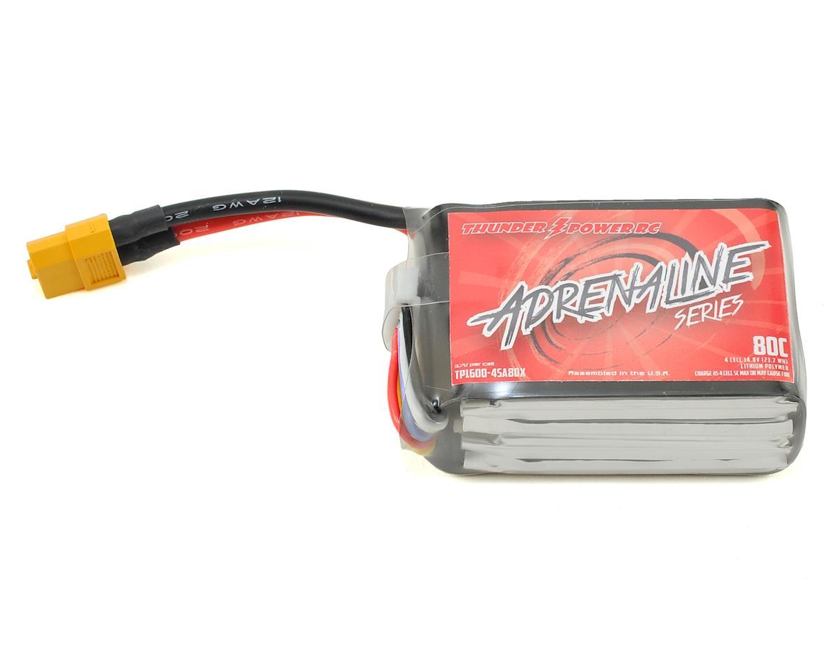 Thunder Power Adrenaline 4S LiPo Battery 80C (14.8V/1600mAh)