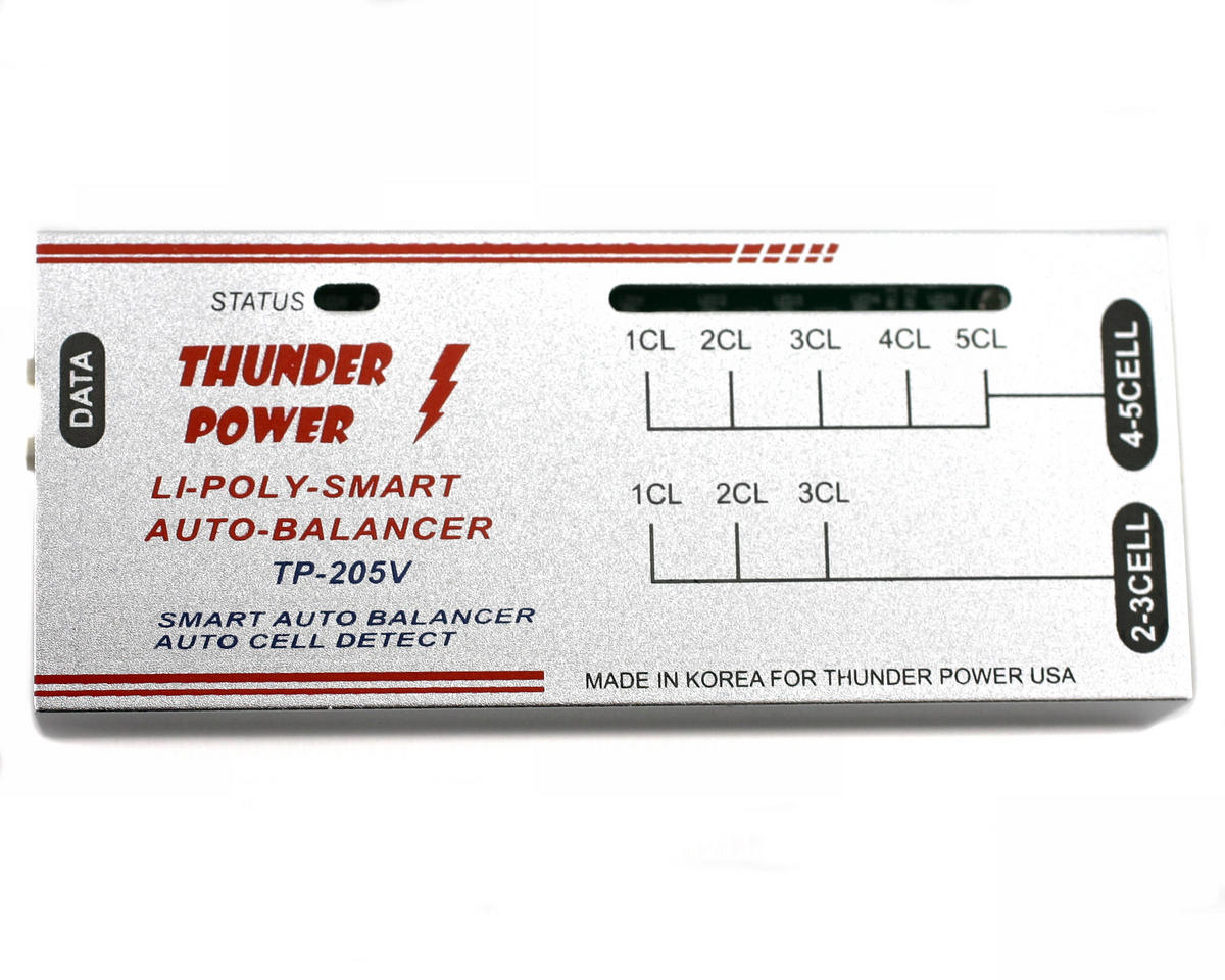 TP205V 2-5 Cell LiPo Balancer by Thunder Power