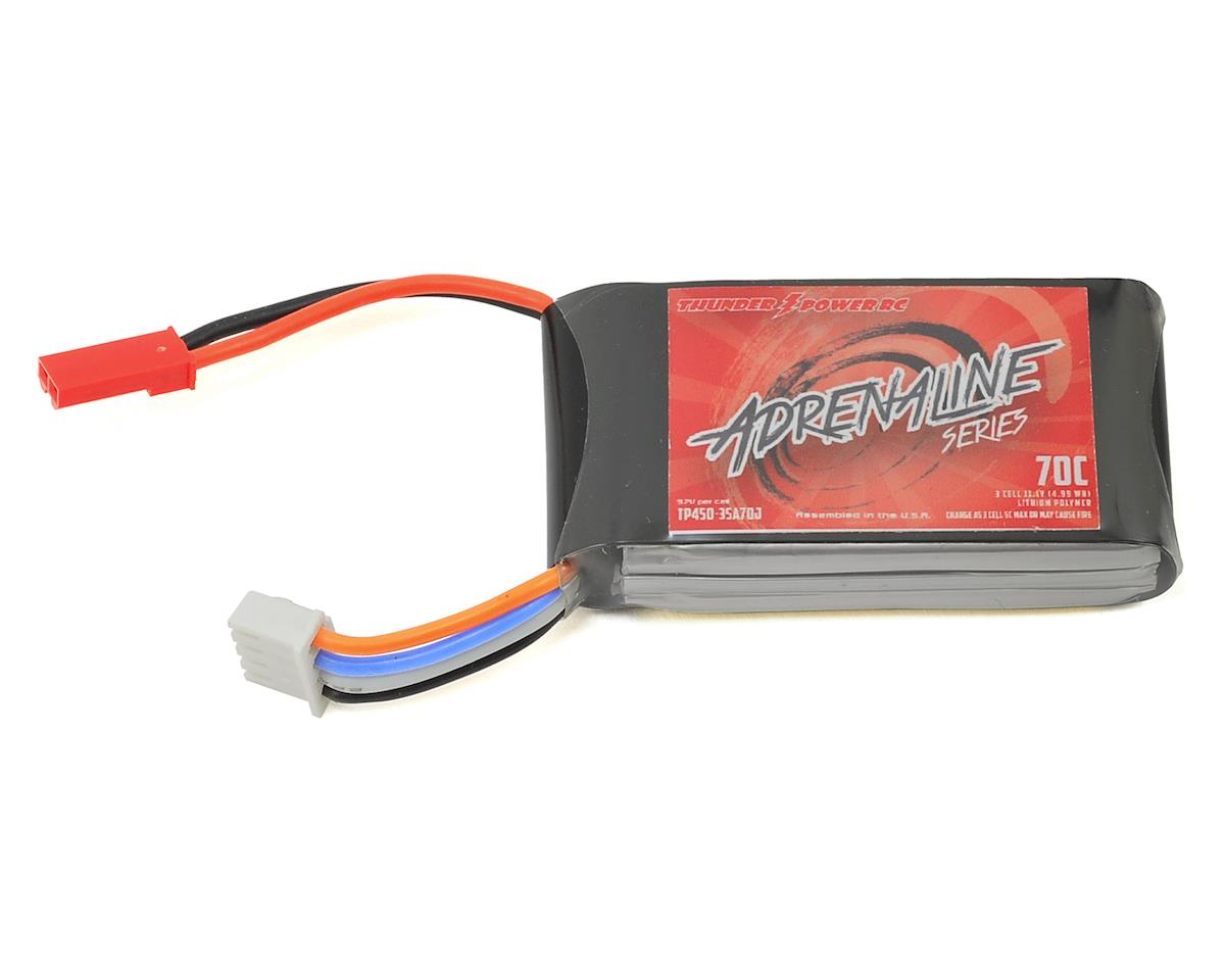 Thunder Power Adrenaline 3S Li-Poly Battery 70C (11.1V/450mAh) (JST)