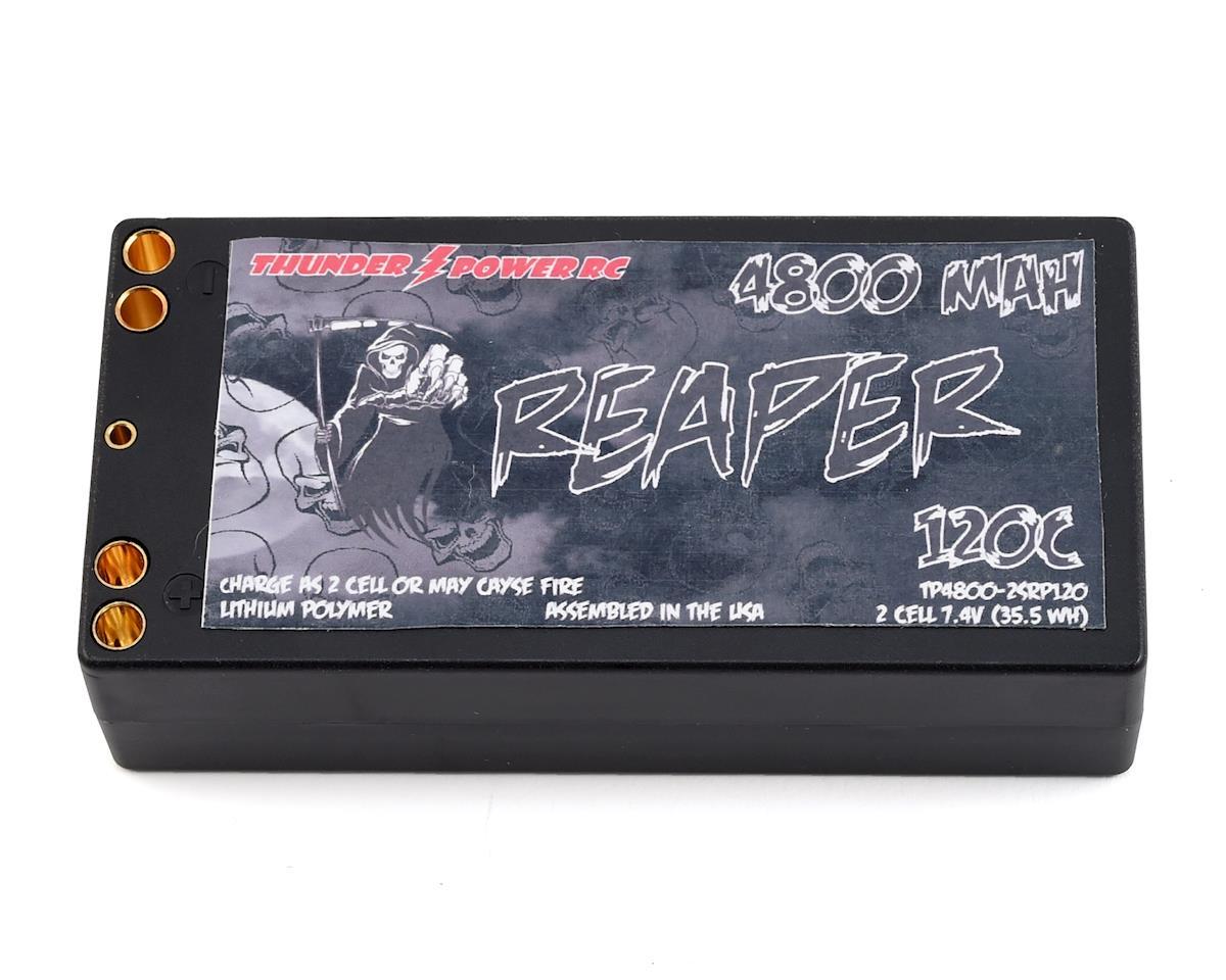 "Thunder Power ""Reaper"" 2S Shorty 120C Hard Case LiPo Battery (7.4V/4800mAh)"