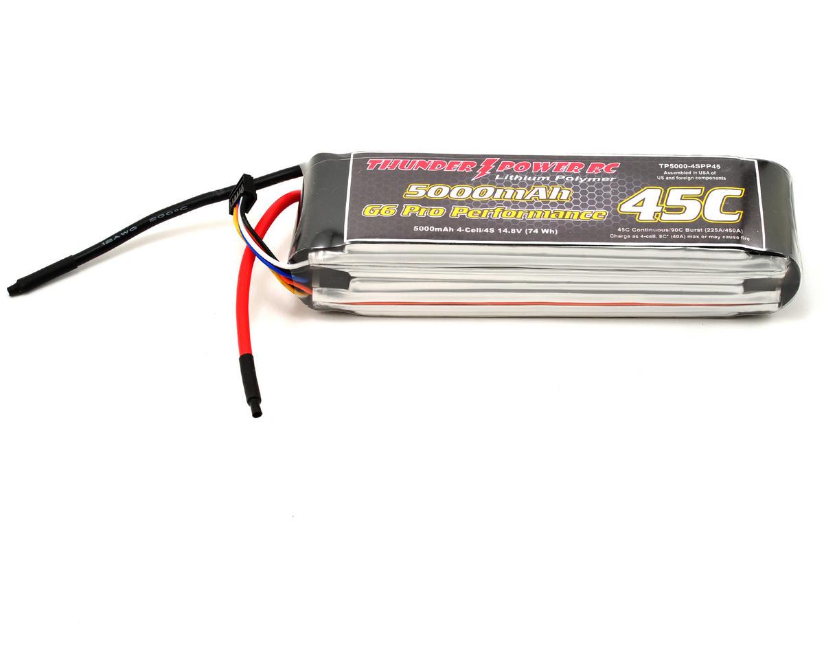 "Thunder Power Pro Performance ""G6"" 4S Li-Poly Battery 45C (14.8V/5000mAh)"