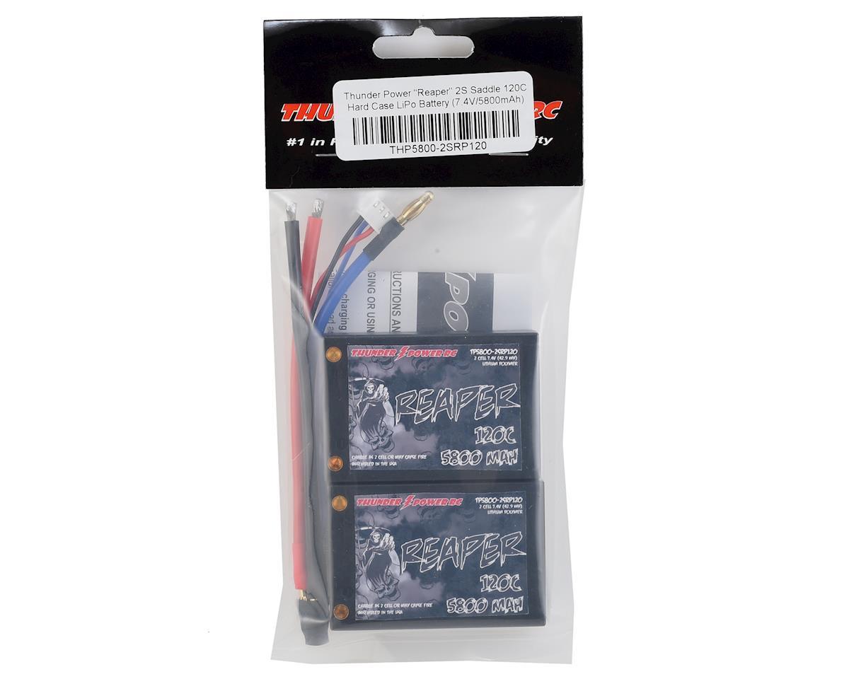 "Thunder Power ""Reaper"" 2S Saddle 120C Hard Case LiPo Battery (7.4V/5800mAh)"