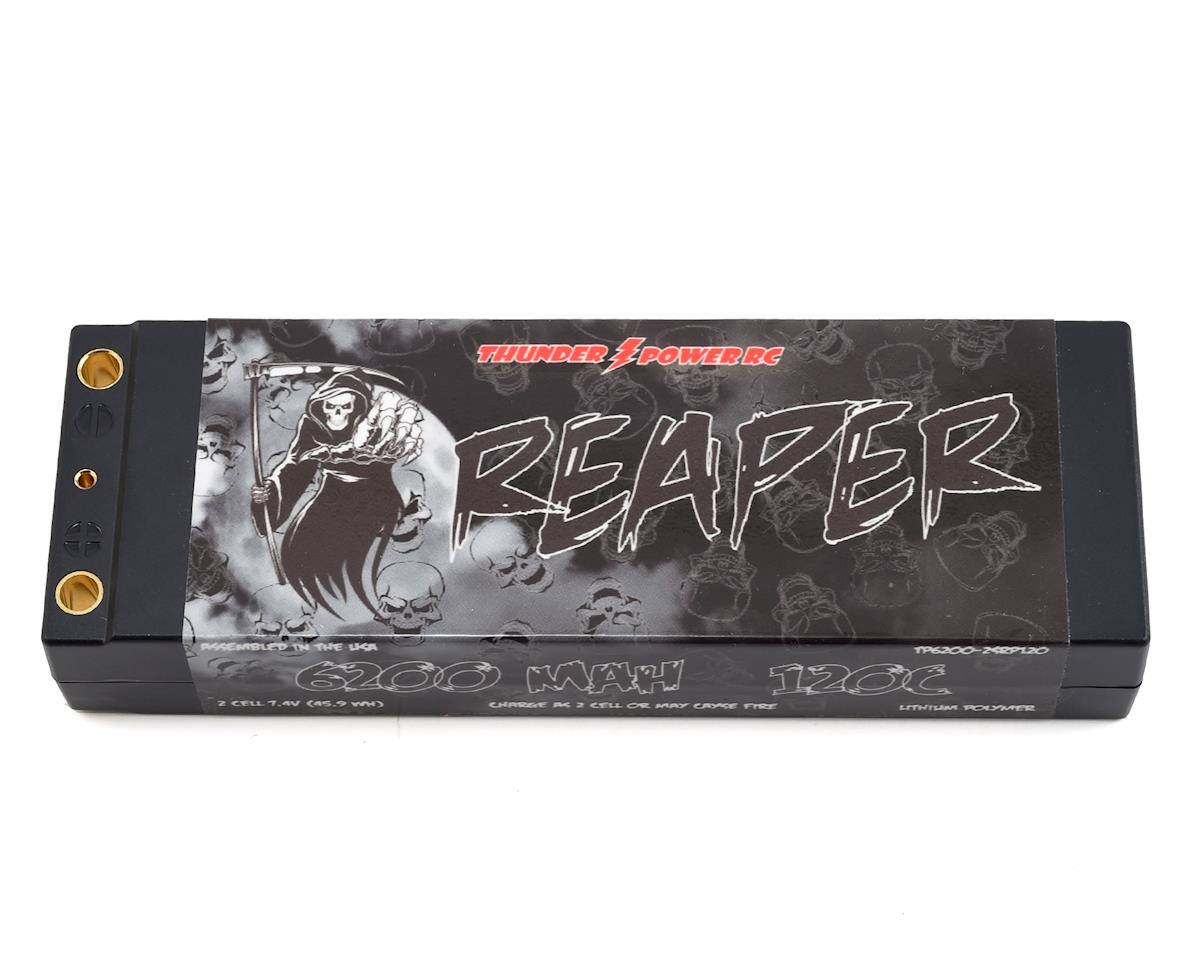 """Reaper"" 2S 120C Hard Case LiPo Battery (7.4V/6200mAh) by Thunder Power"
