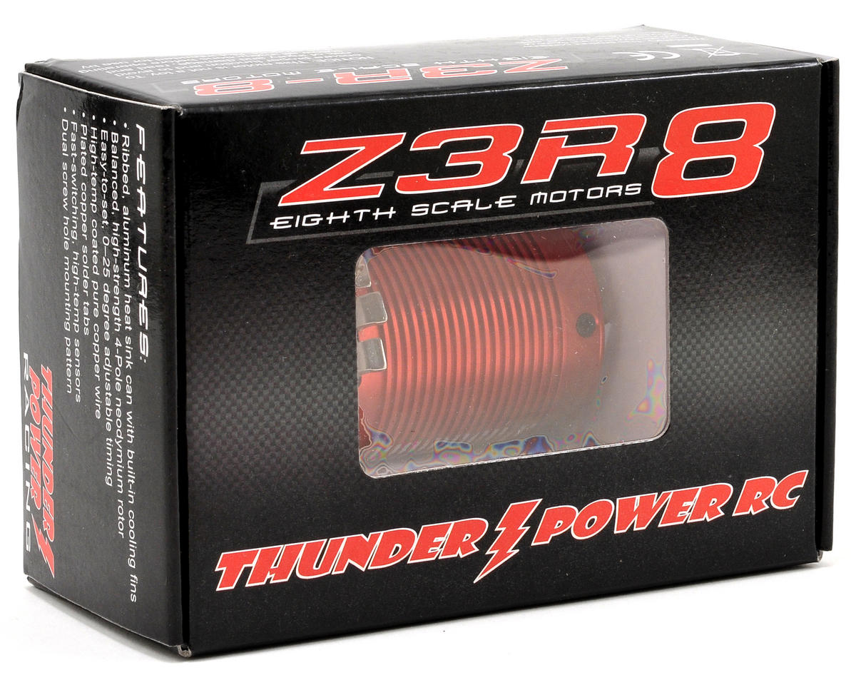 Thunder Power Z3R-8 1/8 Scale Sensored Brushless Motor (1400Kv)