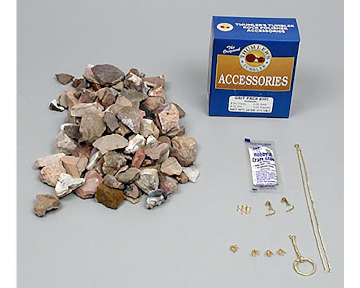 Thumler's Tumbler 709 Accy Kit (#302 Grit/Polishing Rocks/Jewelry Kit)